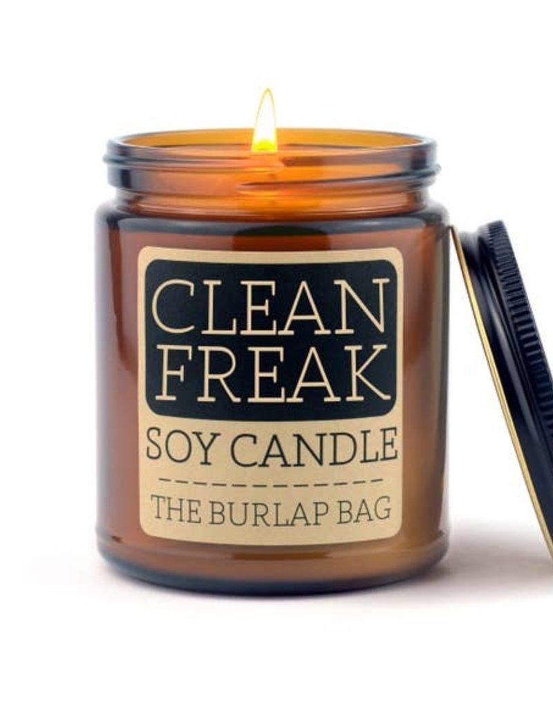 Soy Candle 9 oz Clean Freak