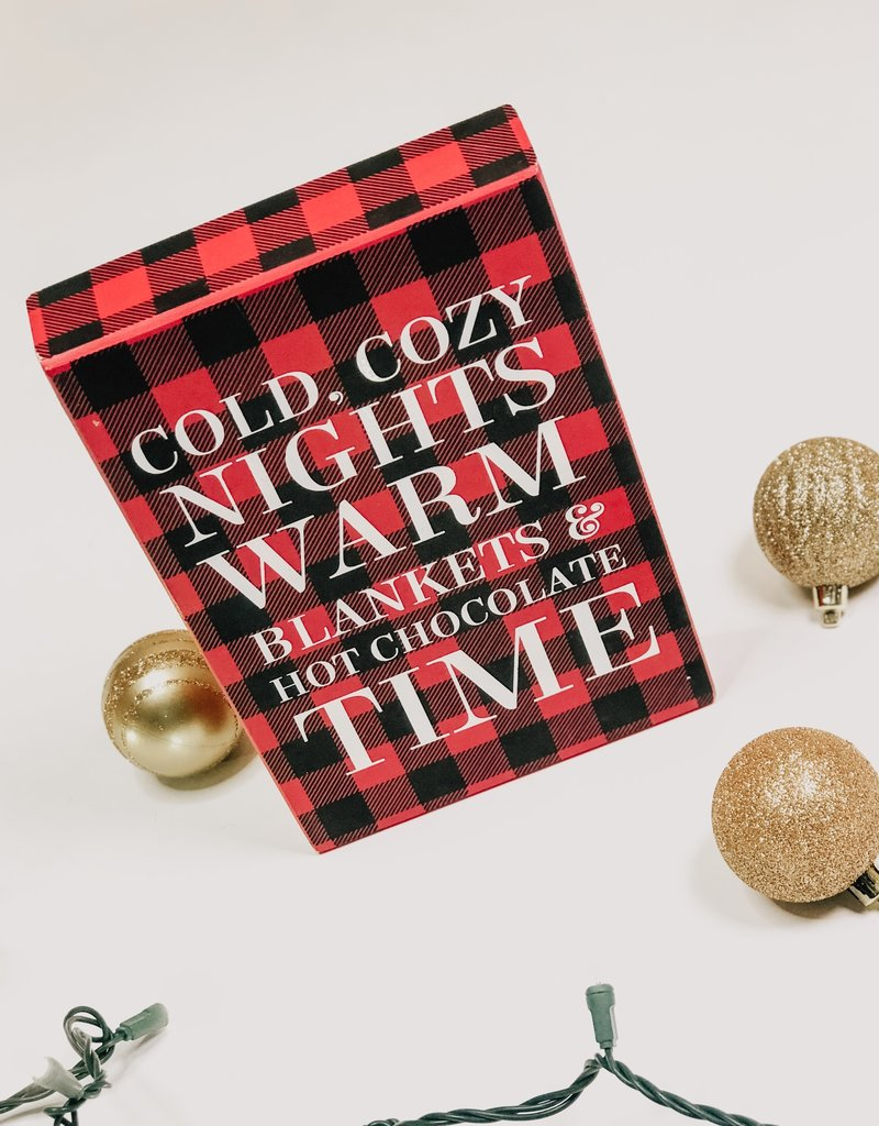 Cozy Night Sign