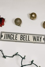Jingle Bell Way Street Sign