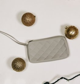 American Jewel LLC Light Gray Gummy Bag