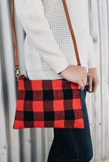 Flannel Hand bag