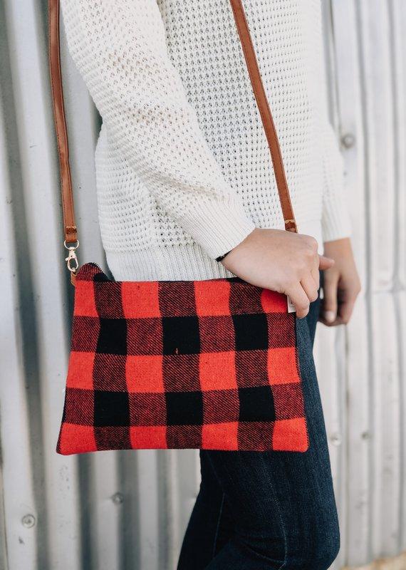 Flannel Hand bag