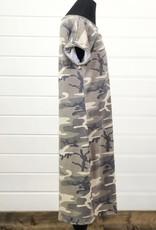 Camo Tee Shirt Dress