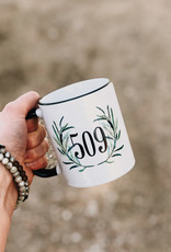 509 Mug {Eucalyptus Wreath}