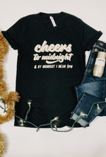 Cheers To Midnight Tee