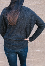 High Low Knit Sweater