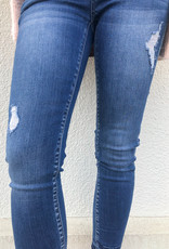 KanCan Gemma Mid Rise Cropped Skinny Jean