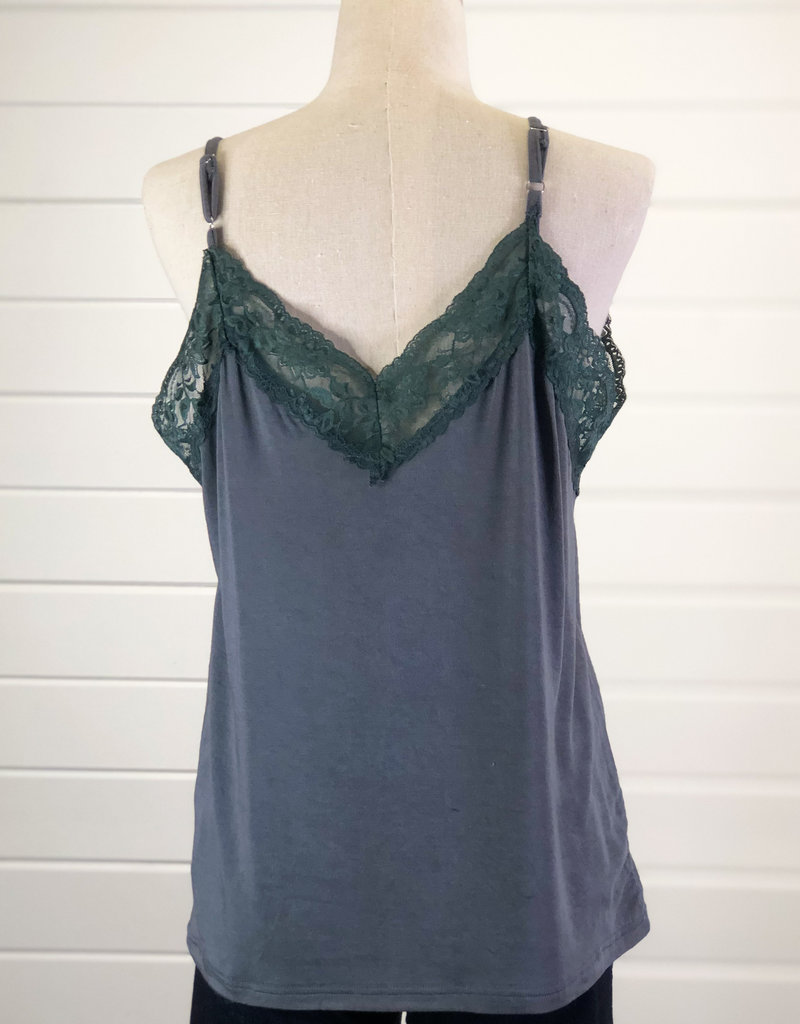 Knit Lace Tank Top