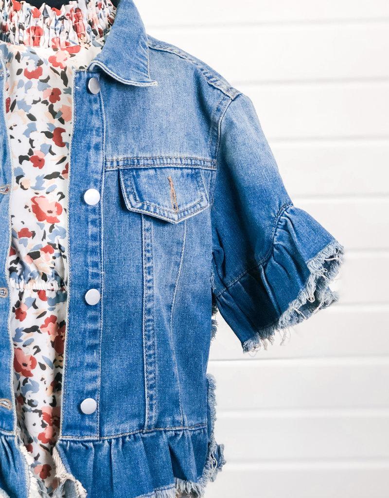 Distressing Denim Jacket