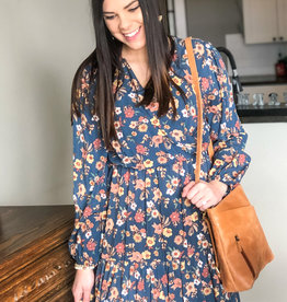 509 Broadway Woven Floral  Print Dress
