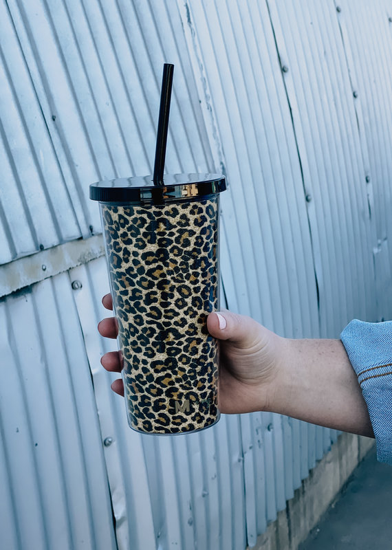 Printed Tumbler With Straw
