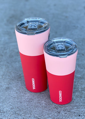 16 oz Corkcicle Color Block Tumbler
