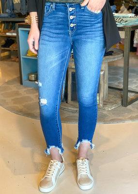 KanCan Alise High Rise Ankle Skinny