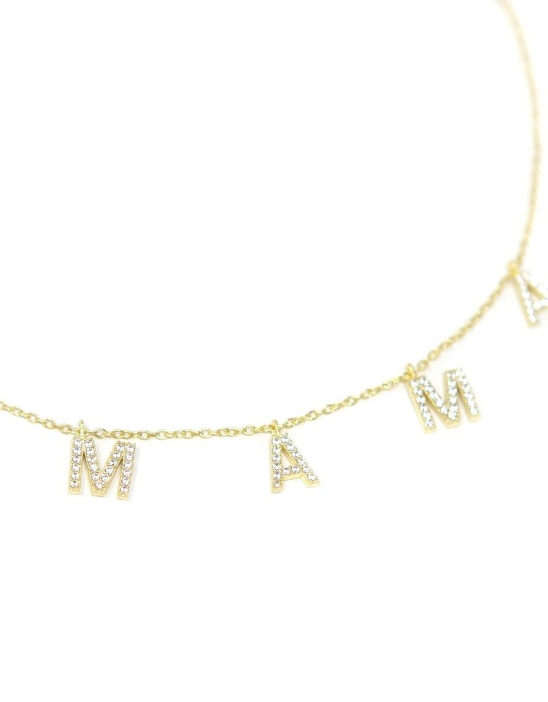 The Sis Kiss MAMA Necklace