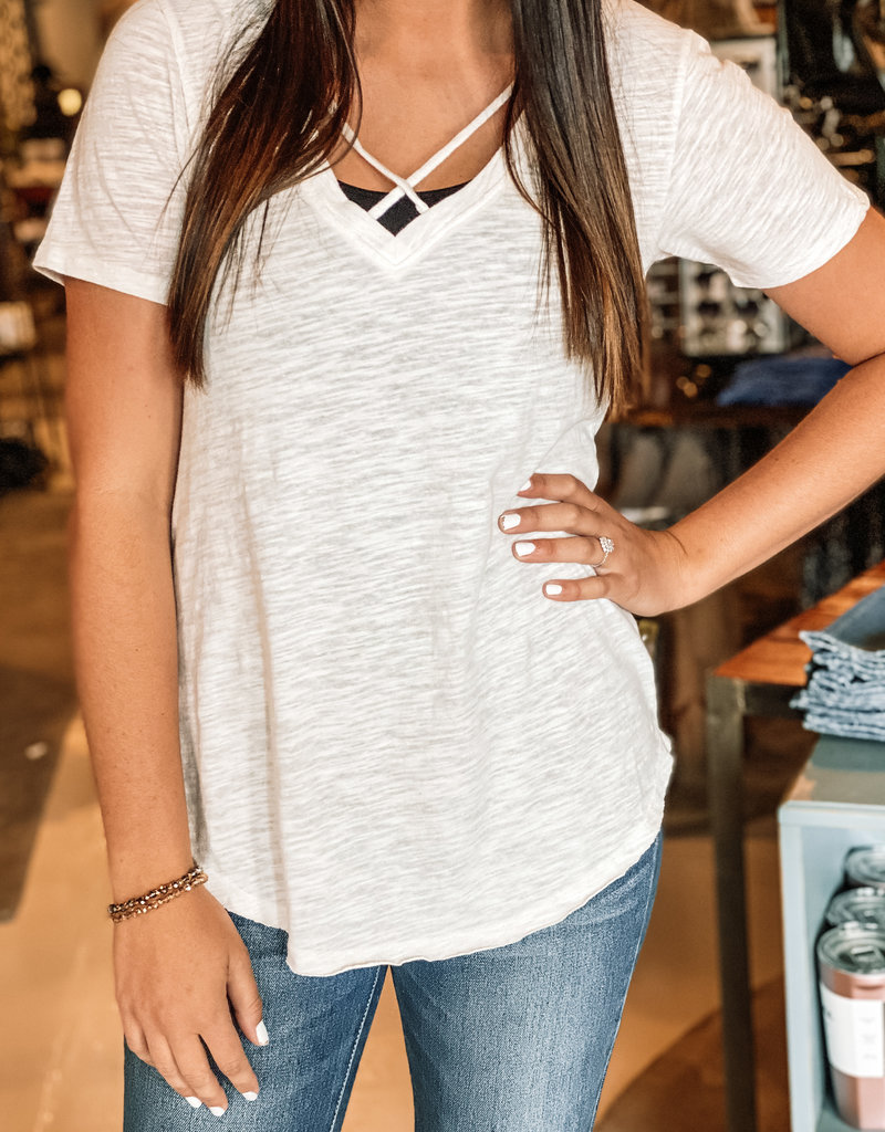 The Airy Slub Crossroads Tee