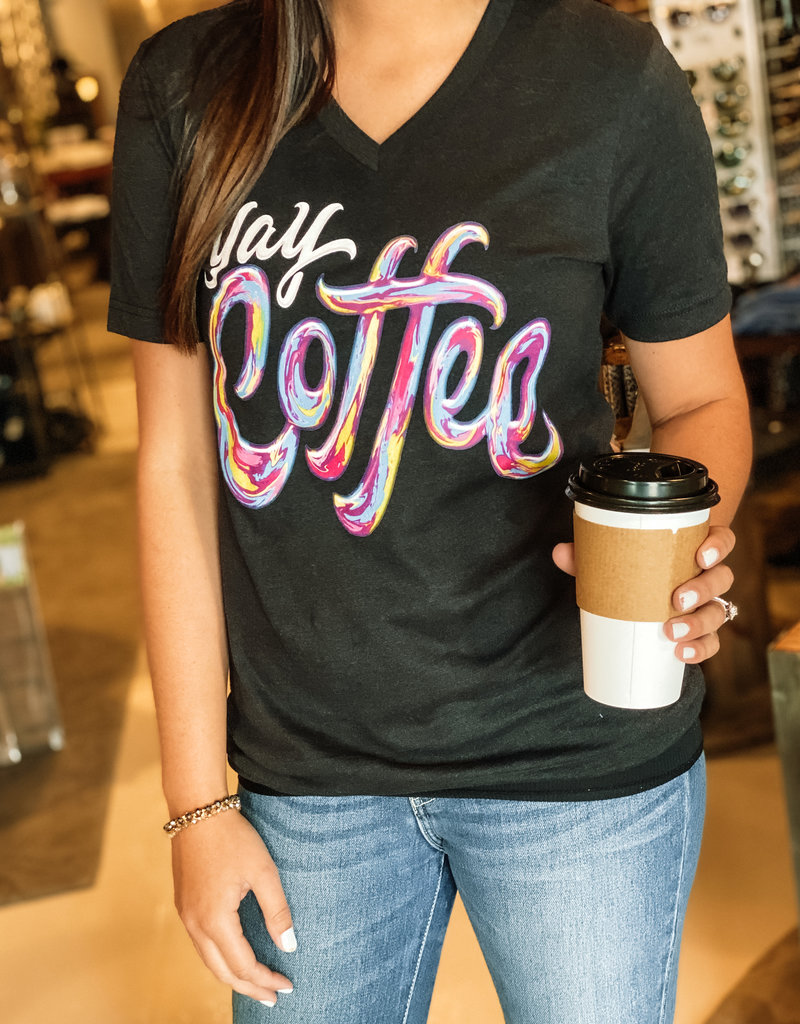 509 Broadway YAY Coffee Tee
