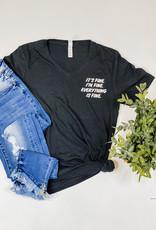 509 Broadway It's Fine T-Shirt