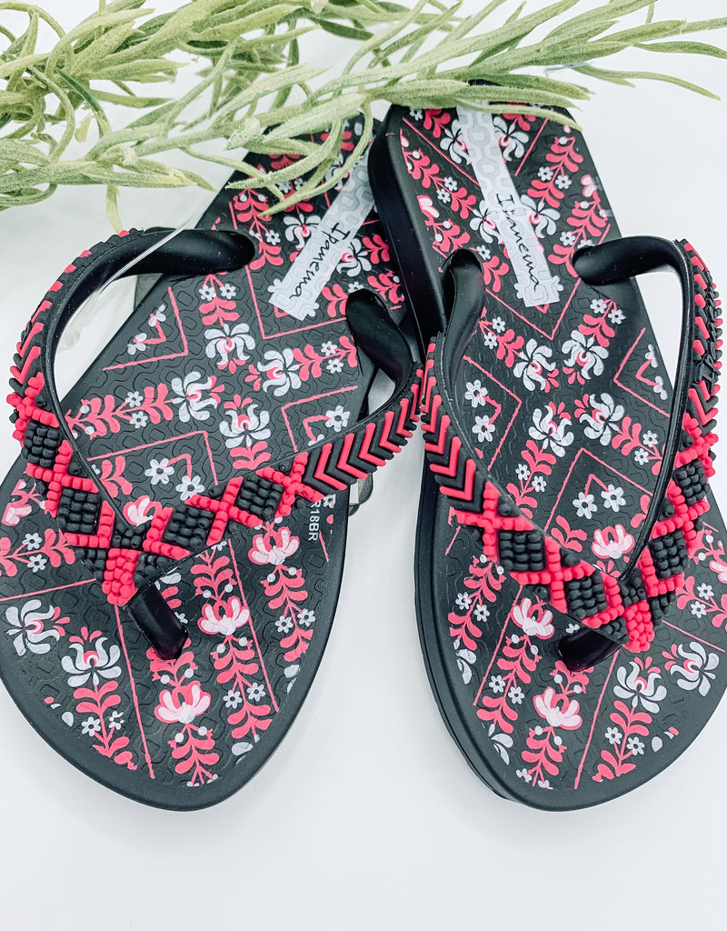 Little Girls Beaded Sandal
