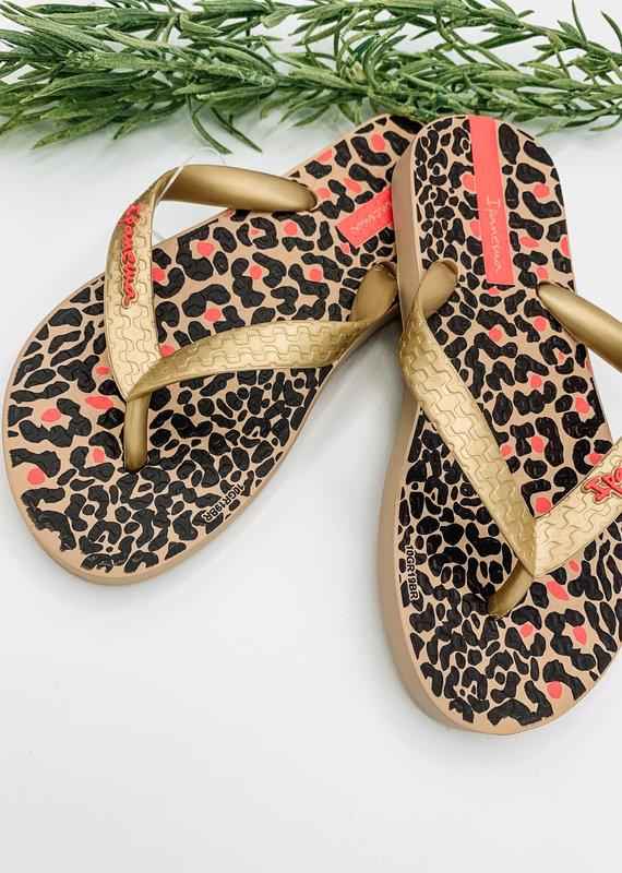Ipanema Girls Leopard Sandal