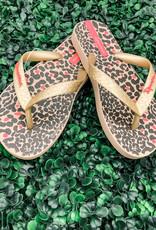 Ipanema Little Girls Leopard Sandal