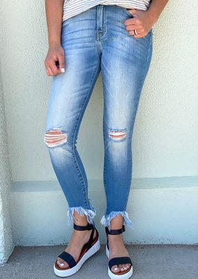 Landree High Rise Ankle Skinny