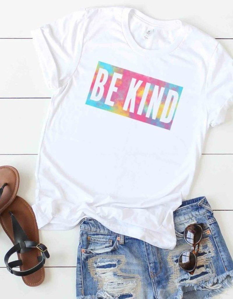 Be Kind Tie Dye Graphic Tee