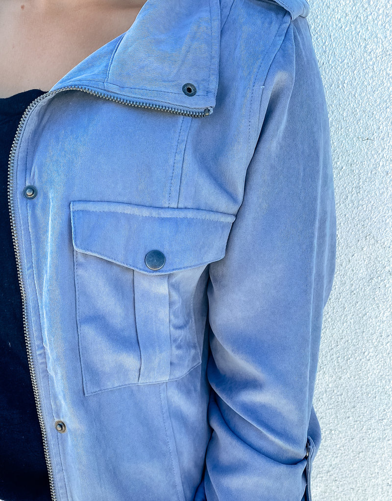 Snap Button Front Jacket