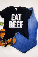 509 Broadway Eat Beef Graphic Tee