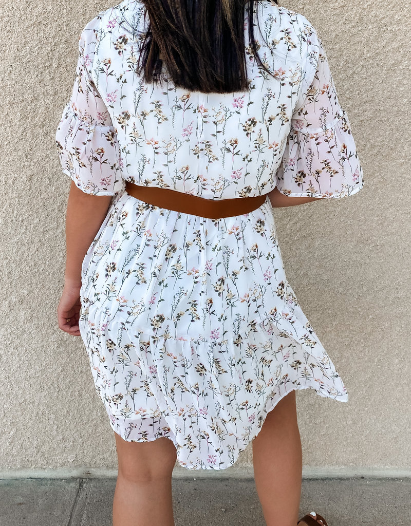 509 Broadway Tiered Dainty Floral Dress