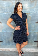 509 Broadway Polka Dot Mini Dress