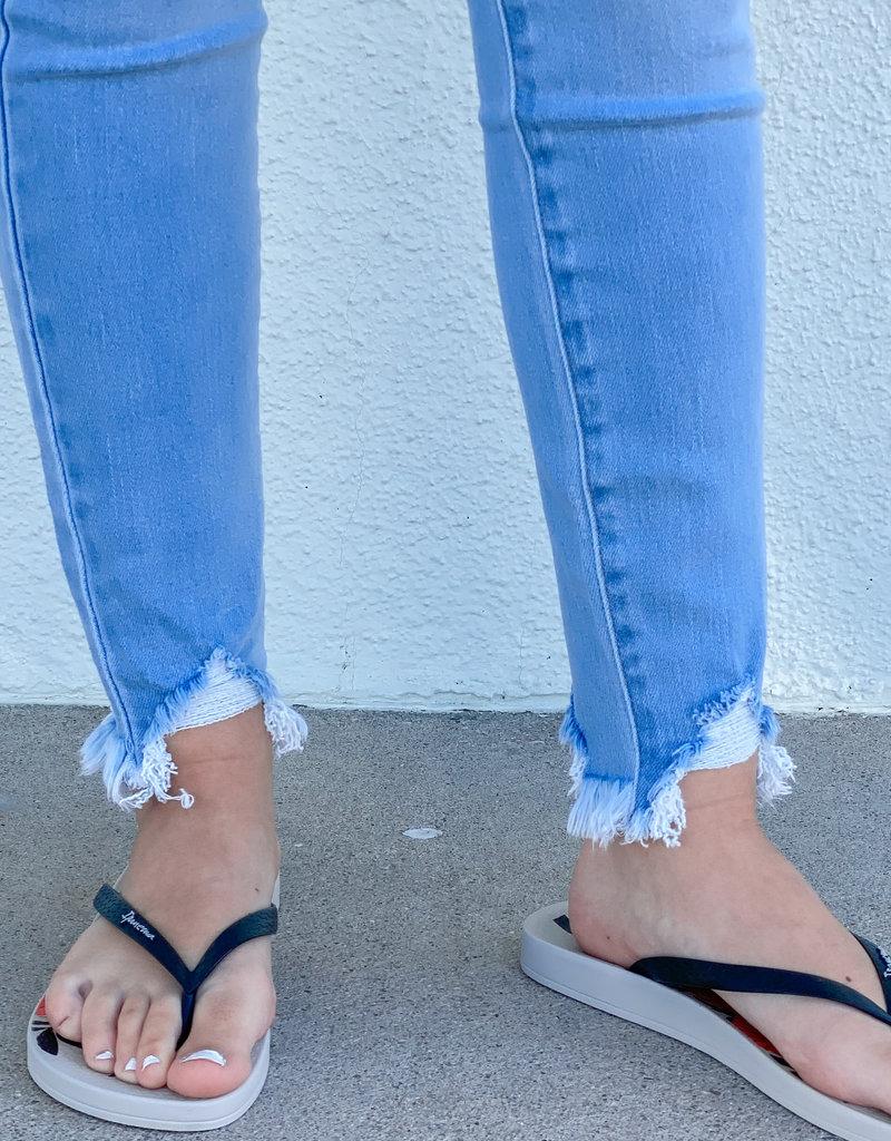 KanCan Payton High Rise Ankle Skinny