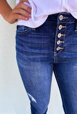 KanCan Riley High Rise Button Fly Jean