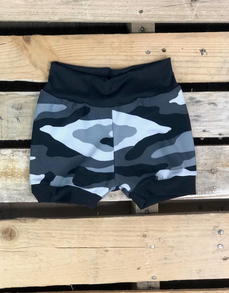 509 Broadway Camo Shorties