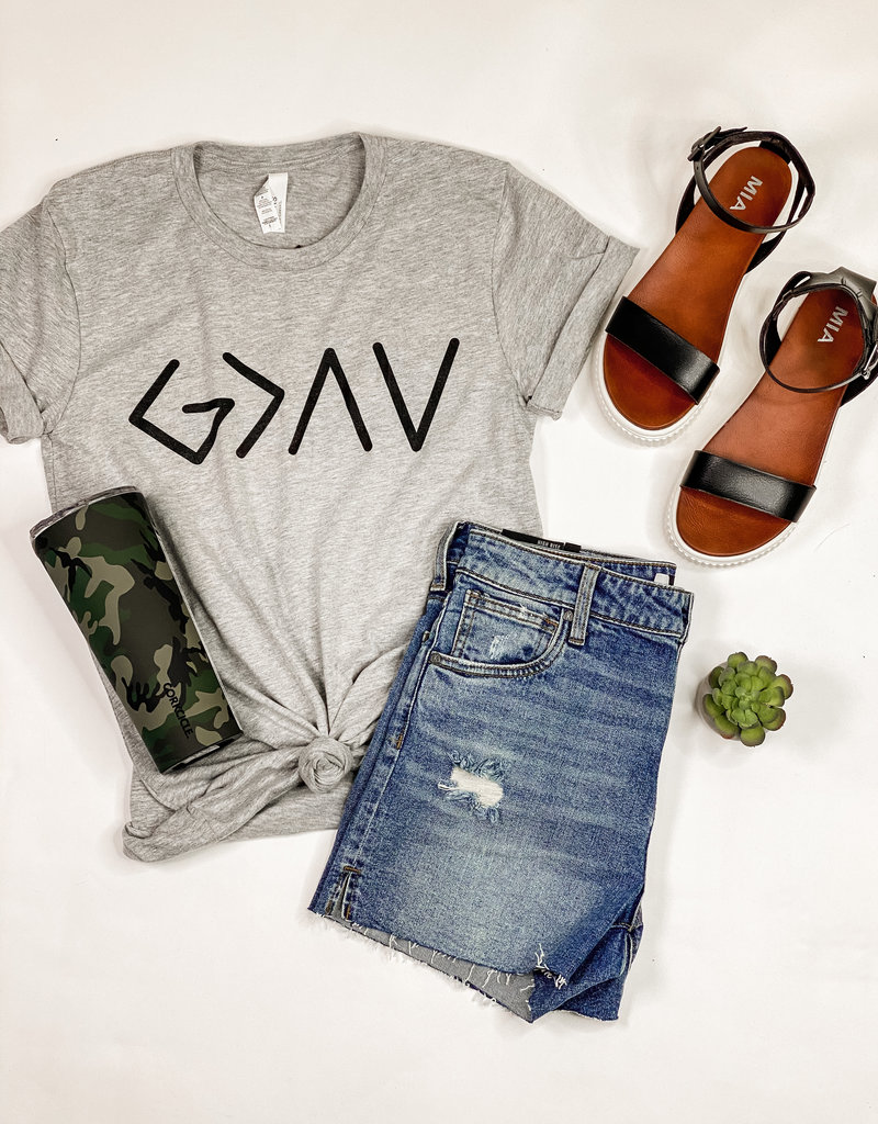 509 Broadway God is Greater Tee