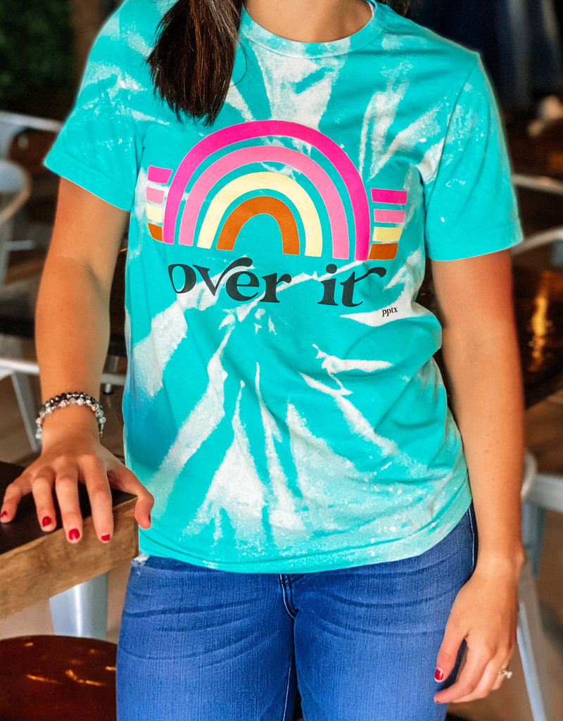 Prickly Pear Tie Dye Over It Tee