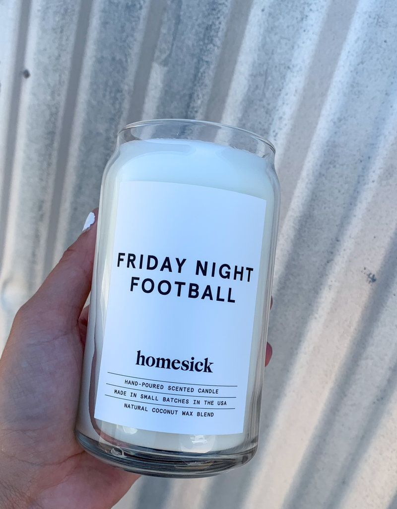 509 Broadway Friday Night Football Candle