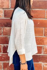 509 Broadway Crew Neck Knit Sweater