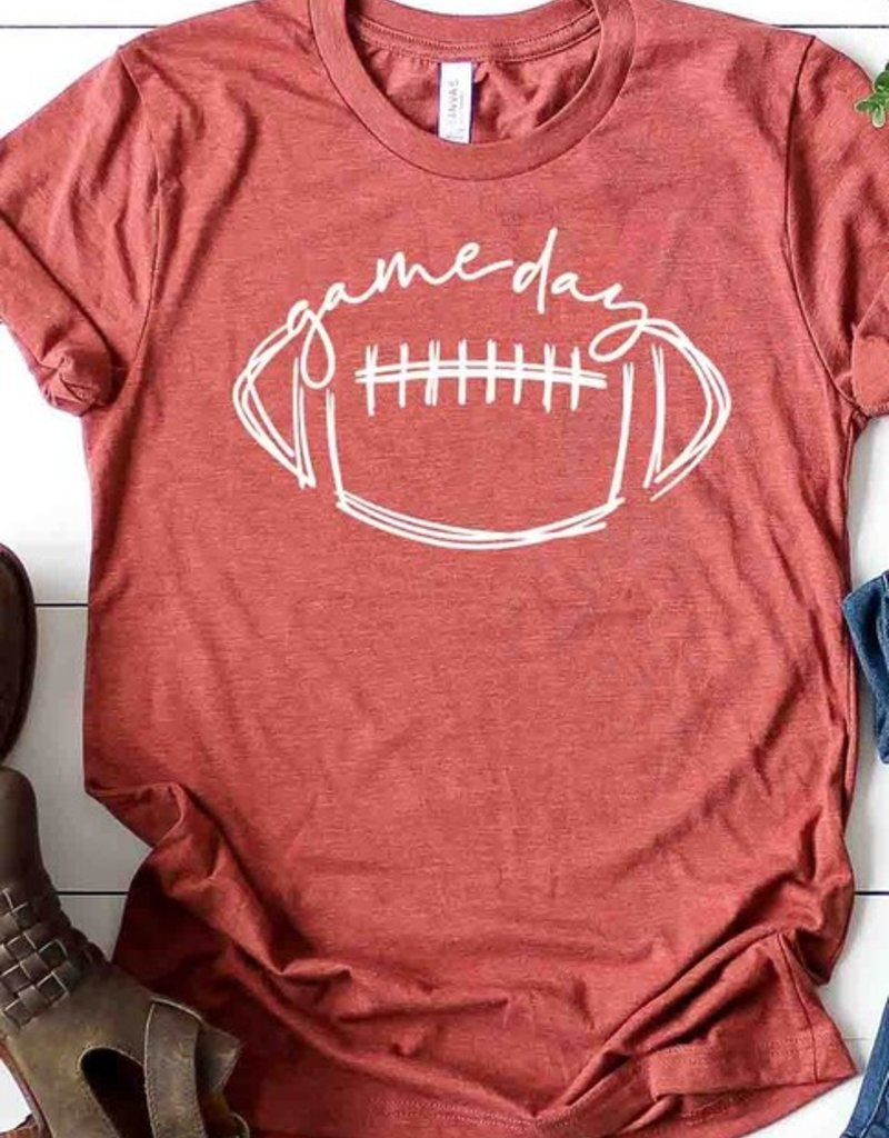 509 Broadway Cursive Game Day Tee