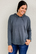 Z Supply The Waffle Thermal Dolman Hoodie