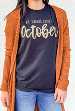 509 Broadway Favorite Color Is October Tee