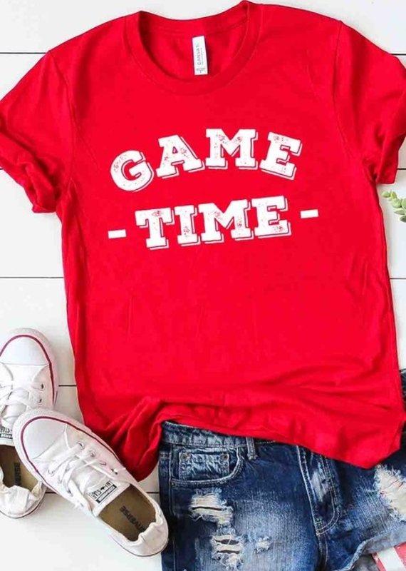 509 Broadway Distressed Game Time Tee