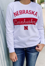 "509 Broadway Nebraska ""Brooklyn"" Crew Neck Tee"