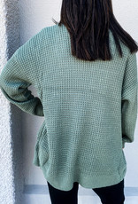 509 Broadway Button Down Cardigan Sweater
