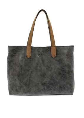 509 Broadway Distressed Mariah Convertible Tote
