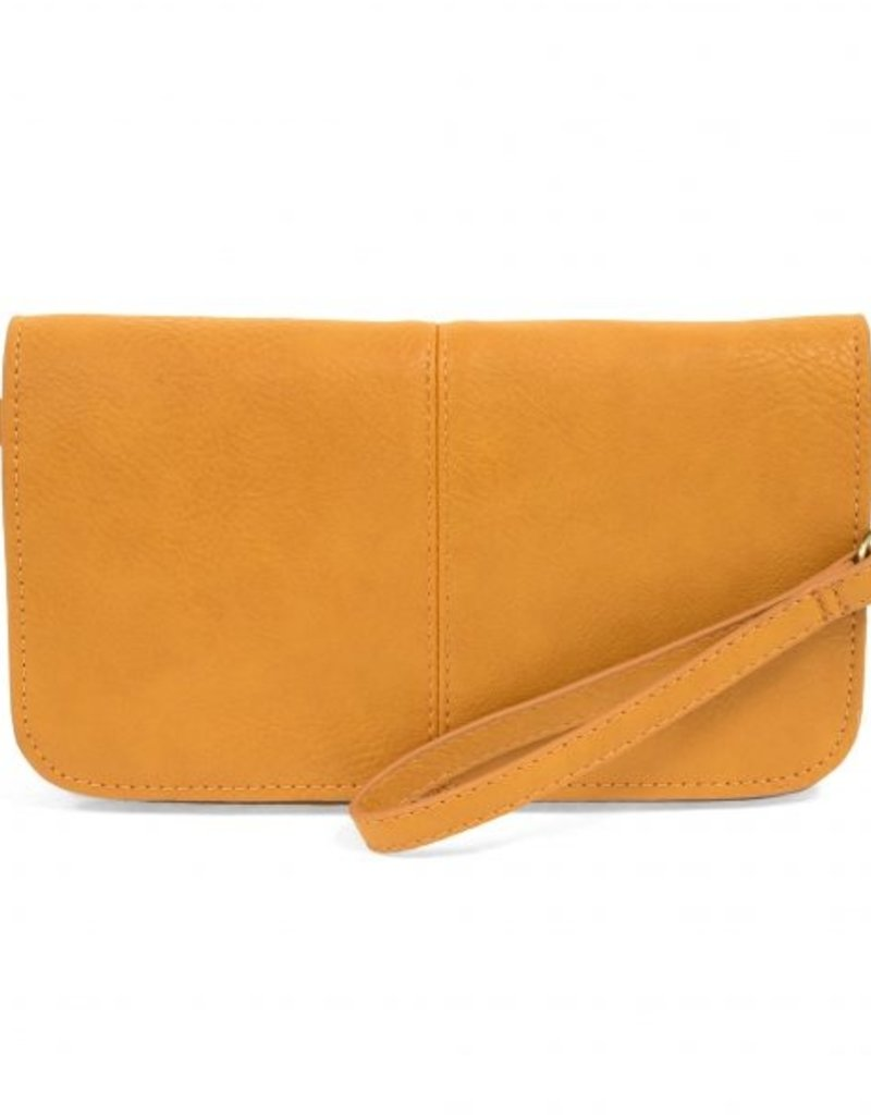 509 Broadway Mia Multi Pocket Crossbody Clutch