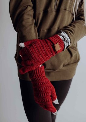 509 Broadway Winter Knit Gloves