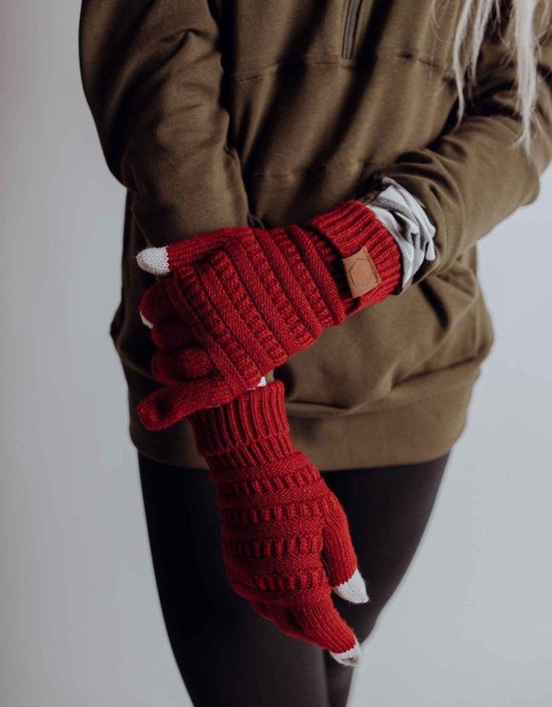 509 Broadway Winter Knit Gloves