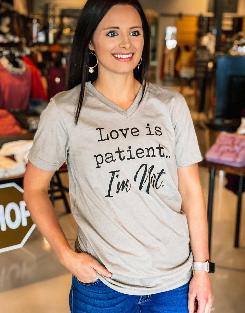 509 Broadway Love is Patient Tee
