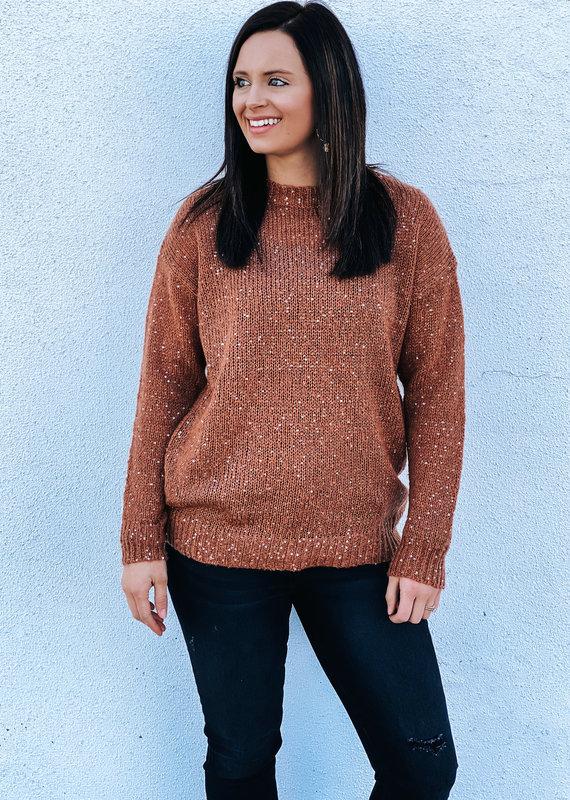 509 Broadway Twinkle Knit Sweater
