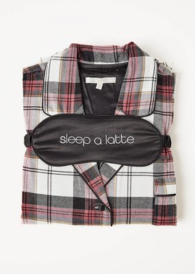 Z Supply Z Supply Dream State Plaid PJ Set